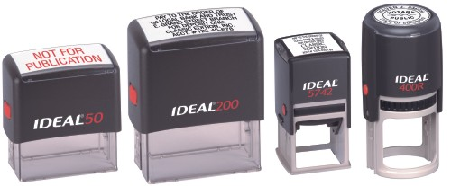 ideal self inking stamps