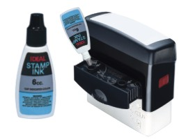 Refilling Ideal Stamps is Simple and Clean!