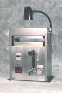 Precision Press Manual Model 912, 12-ton with pressure gauge