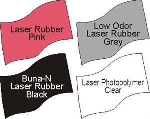 Laser Engravable Rubber Polymer